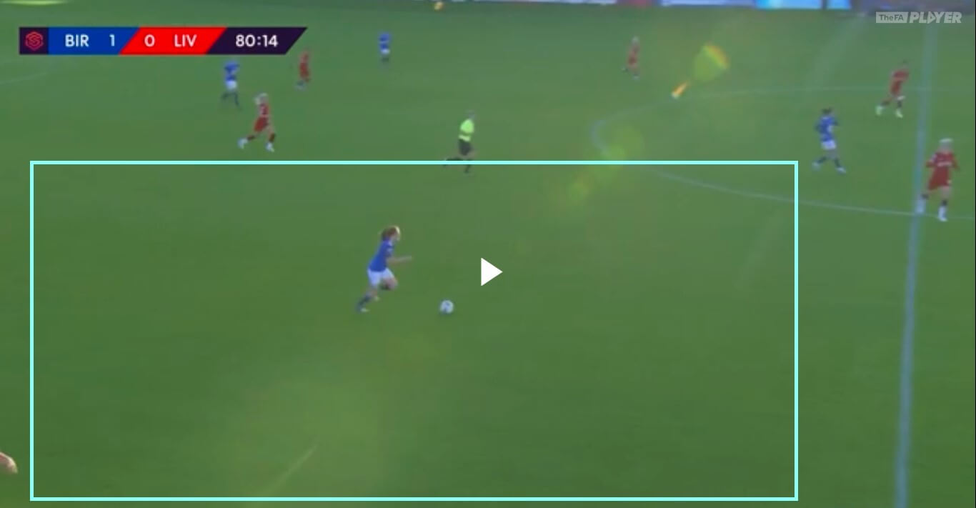 Chloe Arthur 2019/2020 - scout report - tactical analysis tactics