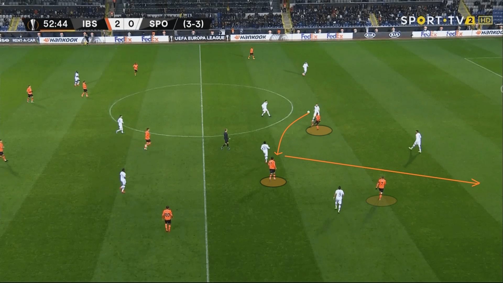 Istanbul Basaksehir: Their offensive style of play under Okan Buruk - tactical analysis tactics