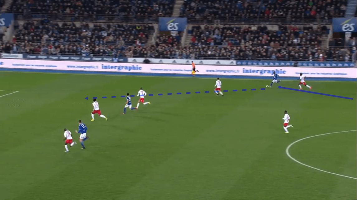 Strasbourg 2019/20 team analysis - scout report - tactical analysis - tactics