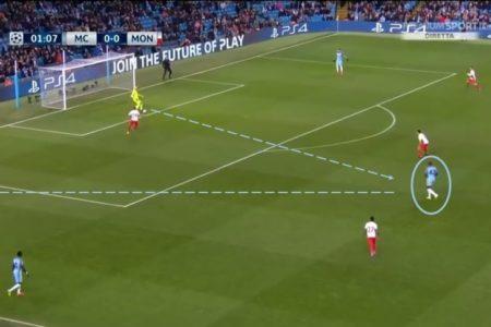 UEFA Champions League 2016/17: Manchester City vs Monaco - tactical analysis tactics