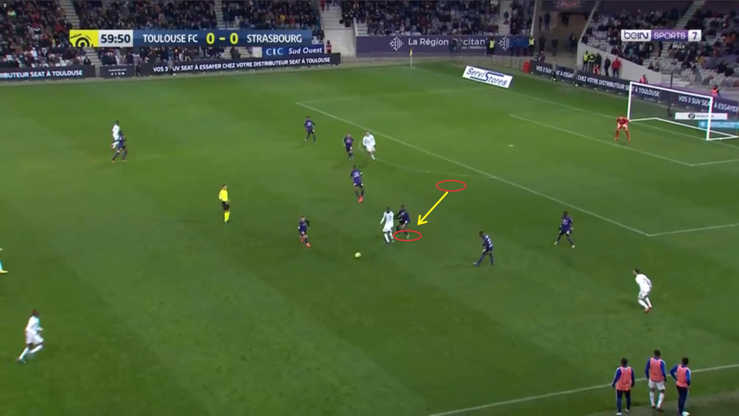 Bafode Diakite 2019/20 - scout report tactical analysis tactics