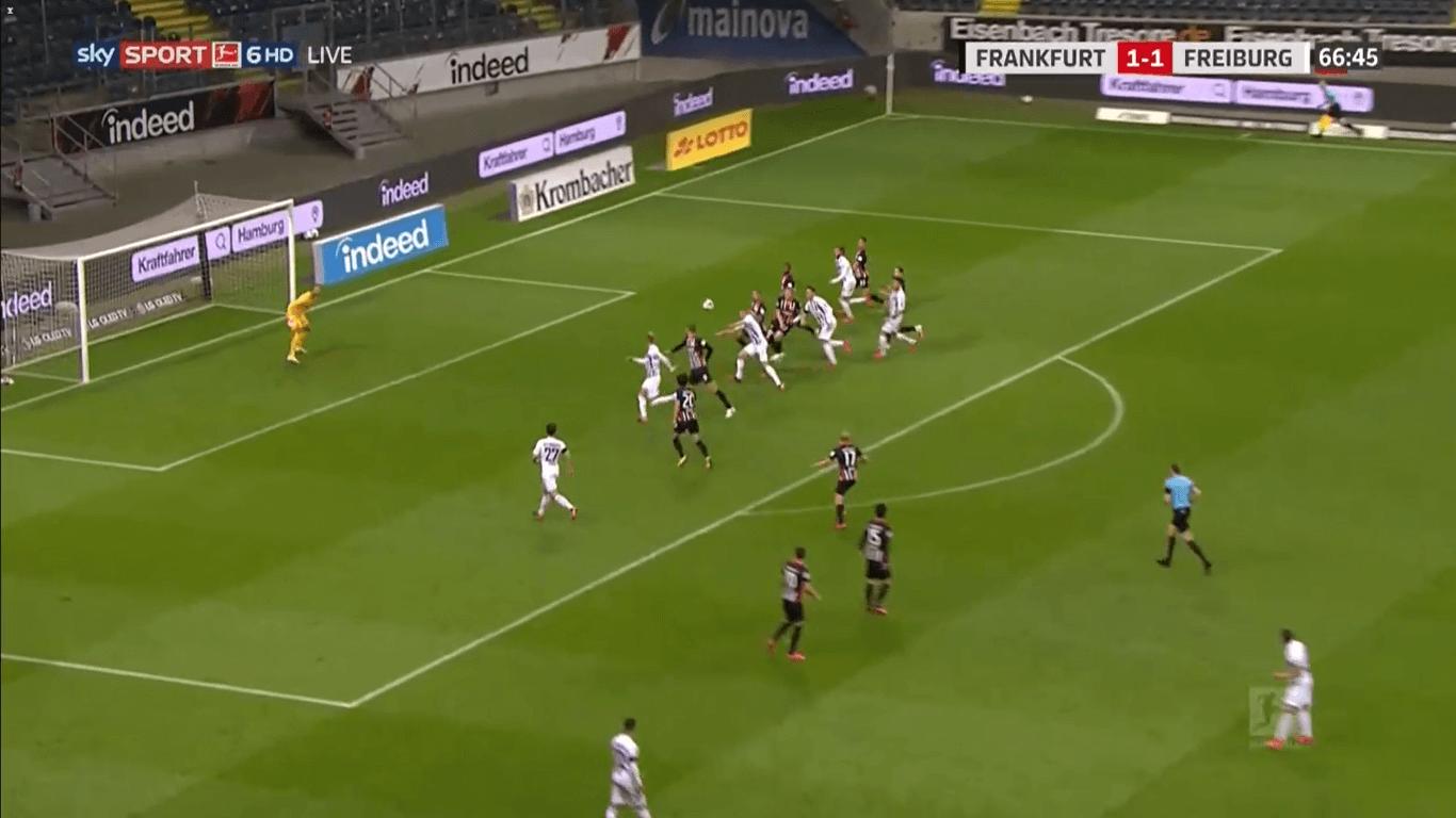 Bundesliga 2019/20: Frankfurt vs Freiburg Tactical Analysis tactics