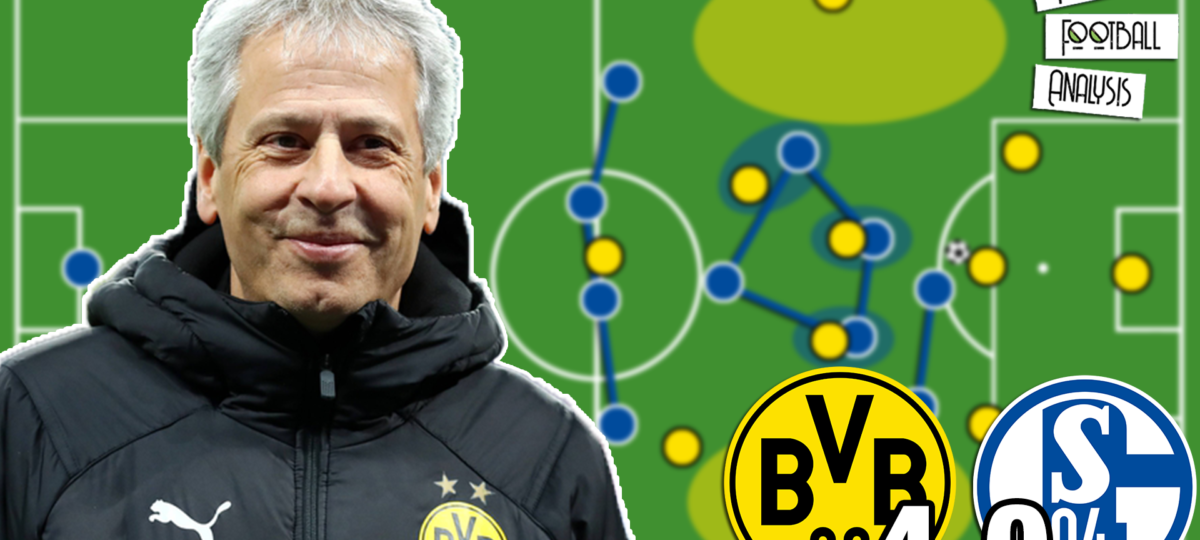 Video: Borussia Dortmund vs Schalke 04 - tactical analysis tactics