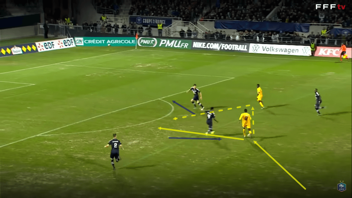 Bordeaux: Their weakness at defending against counter attacks - tactical analysis - tactics