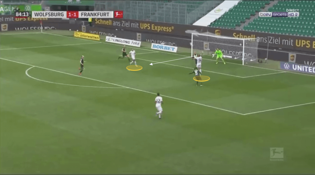 Bundesliga 2019/20: Wolfsburg vs Eintracht Frankfurt - tactical analysis tactics
