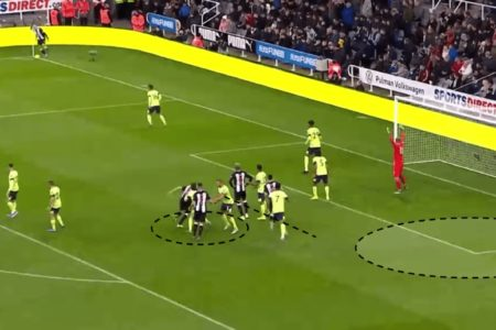 Premier League 2019/20: Newcastle's corner success - set piece analysis tactical analysis tactics