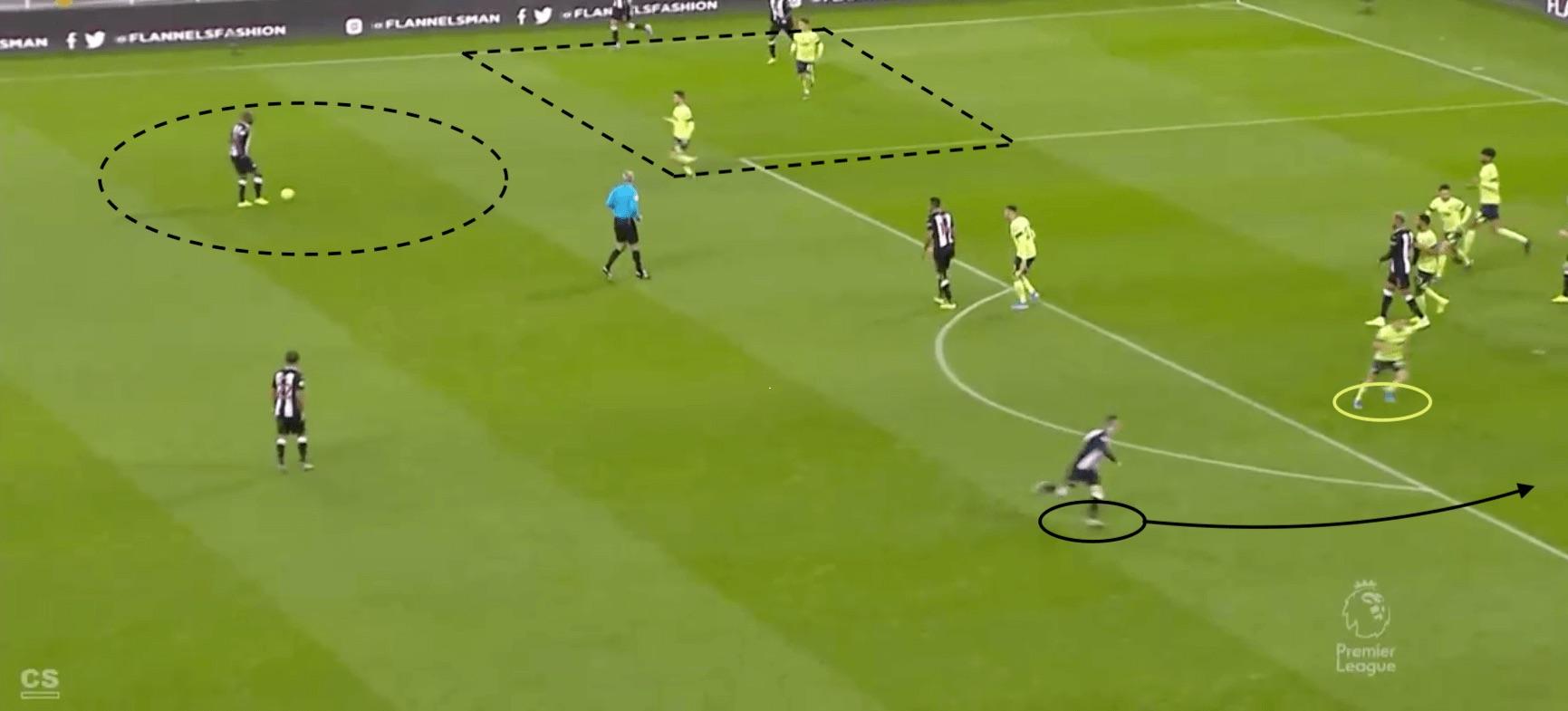 Premier League 2019/20: Newcastle's corner success - set piece analysis tactical analysis tactics