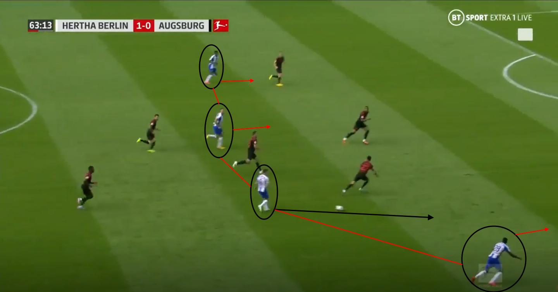 Bundesliga 2019/20: Hertha Berlin vs Augsburg – tactical analysis tactics