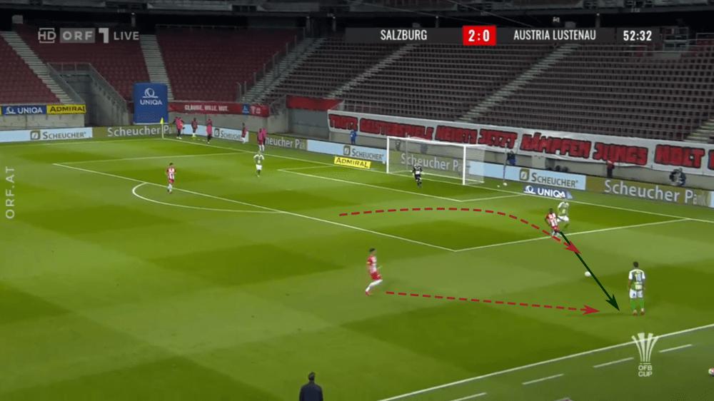 OFB Cup 2019/20: RB Salzburg vs Austria Lustenau - tactical analysis tactics