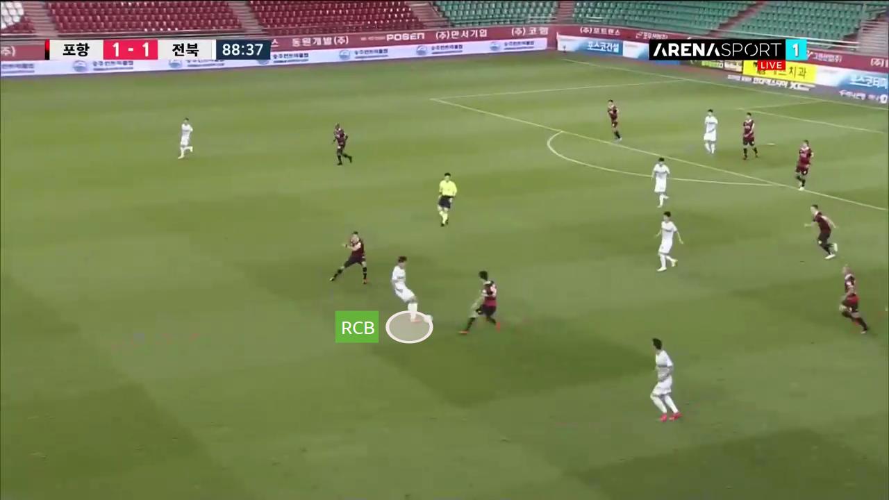 K-League 1 2020: Pohang Steelers vs Jeonbuk Motors - tactical analysis tactics