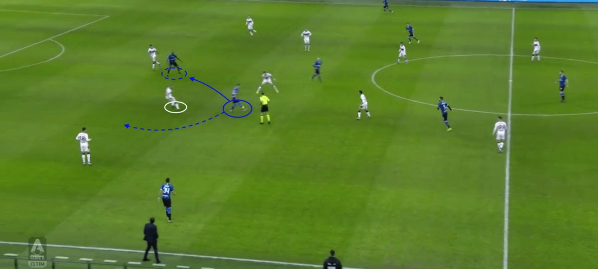 Sebastiano Esposito at Inter 2019/20 - Scout Report - tactical analysis tactics