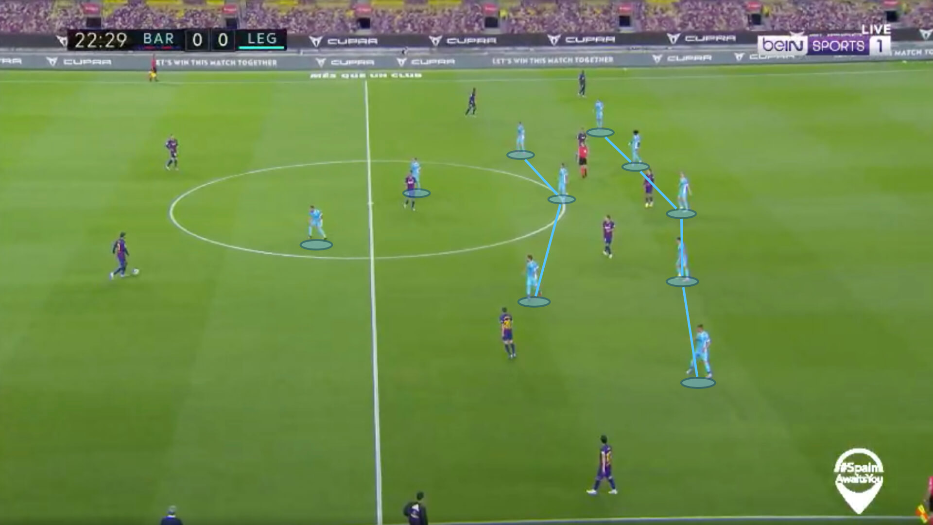 La Liga 2019/20: Barcelona vs Leganes - tactical analysis tactics