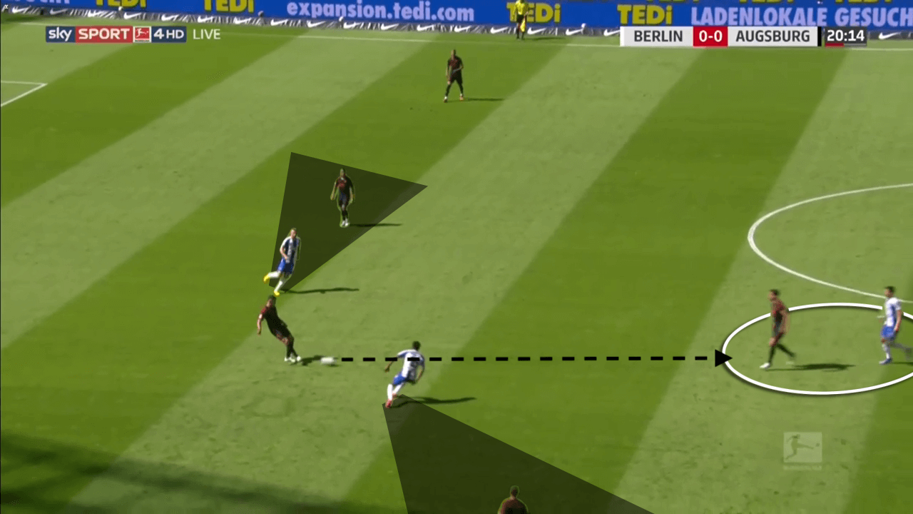 Bruno Labbadia at Hertha Berlin 2019/20 - tactical analysis tactics