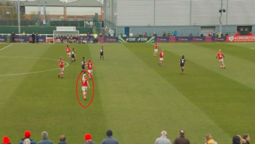 Poppy Pattinson at Bristol City Women 2019/2020 - scout report - tactical analysis tactics