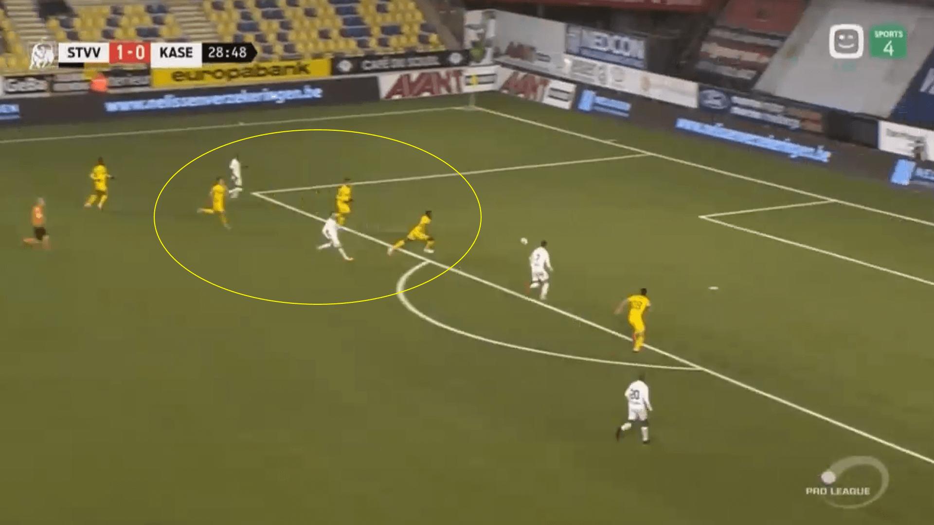Sint-Truiden 2019/20 - tactical analysis tactics