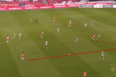 Austrian Bundesliga 2019/20: RB Salzburg vs Rapid Vienna - tactical analysis tactics