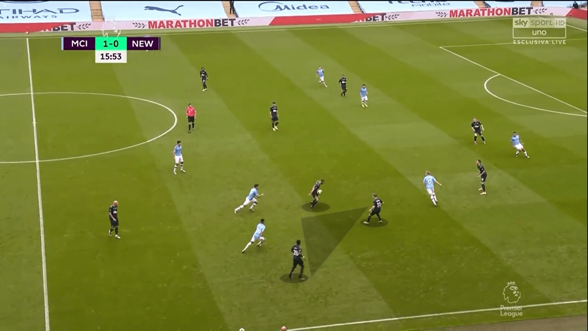 Premier League 2019/20: Manchester City vs Newcastle United - tactical analysis tactics
