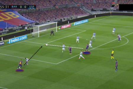 La Liga 2019/20: Barcelona vs. Espanyol - tactical analysis tactics