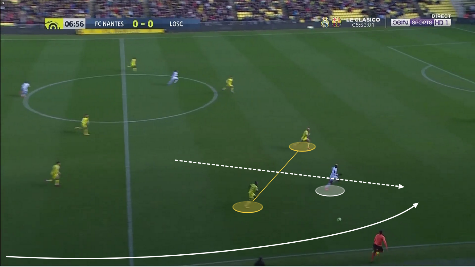 Victor Osimhen at Napoli 2019/20 – scout report – tactical analysis tactics