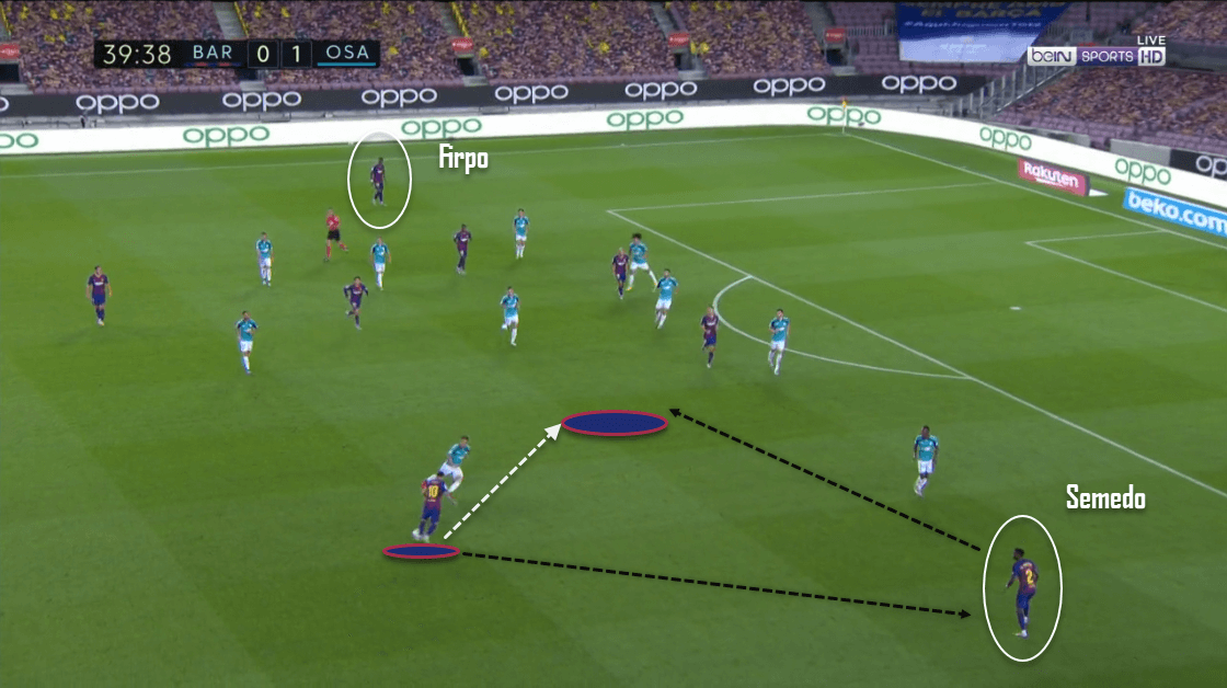 La Liga 2019/20: Barcelona vs. Osasuna - tactical analysis tactics