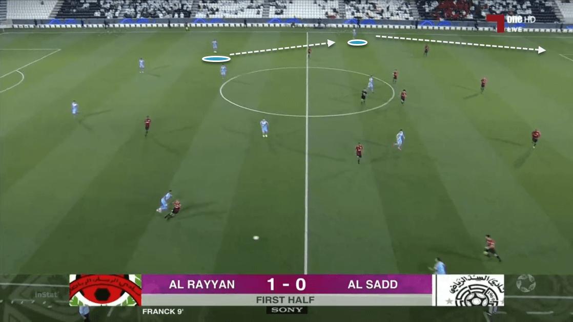 Santi Cazorla at Al Sadd - scout report tactical analysis tactics