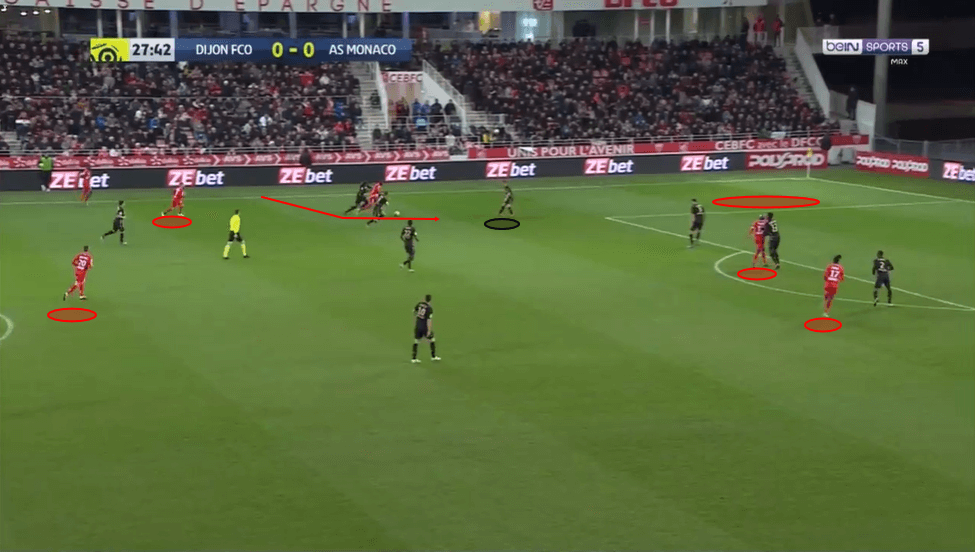Stephy Mavididi at Montpellier 2019/20 - scout report - tactical analysis - tactics