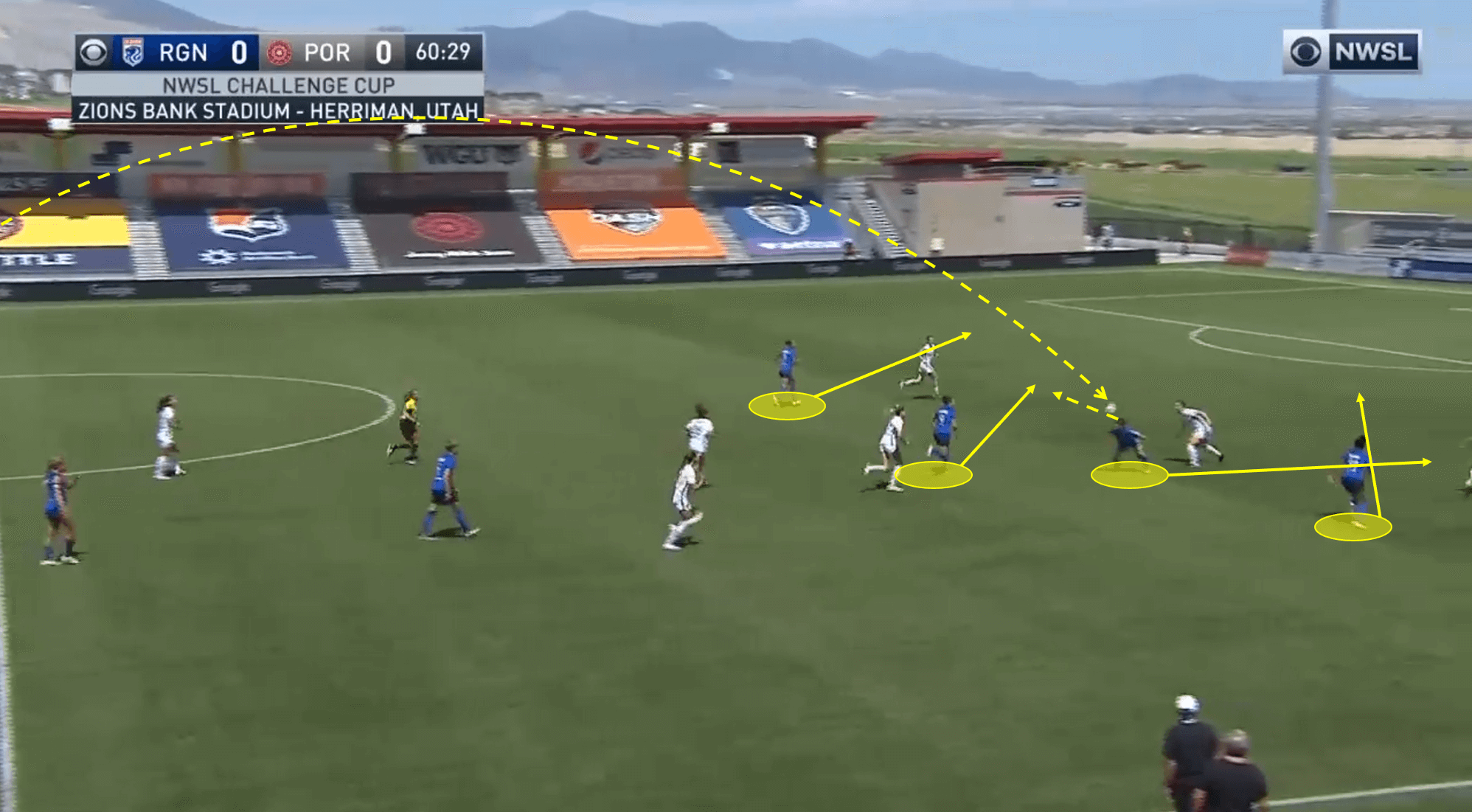 NWSL 2020: Portland Thorns vs OL Reign - tactical analysis tactics