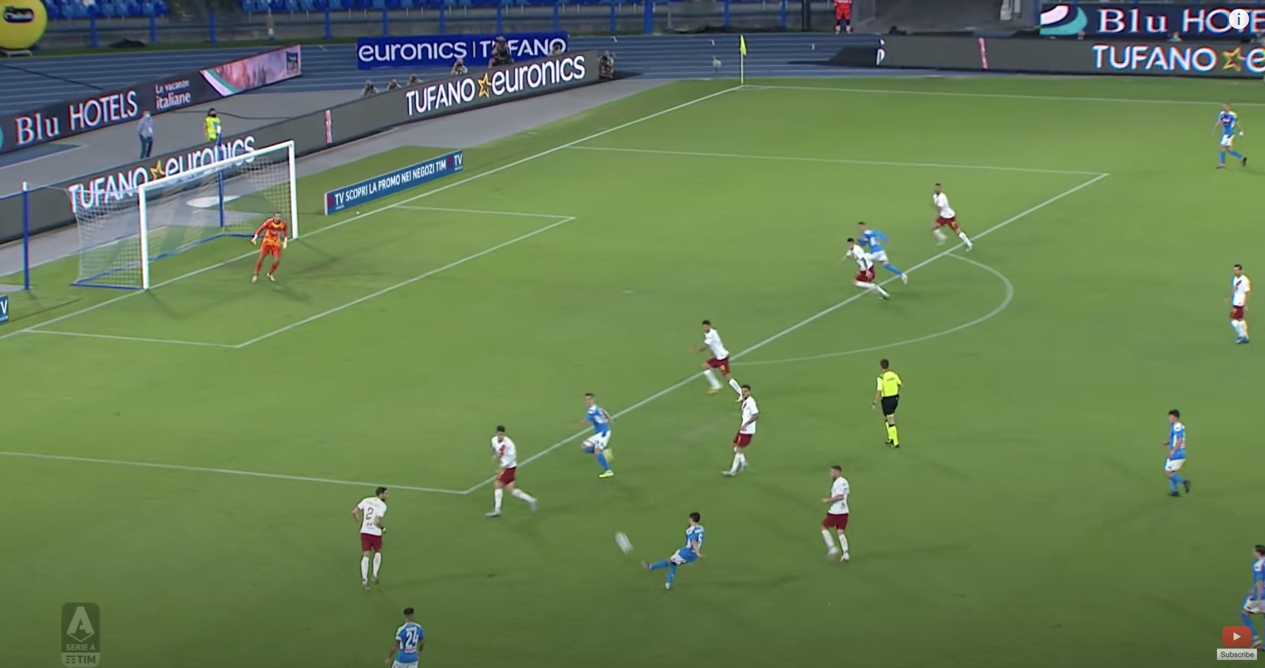 Serie A 2019/20:Napoli vs Roma - tactical analysis tactics