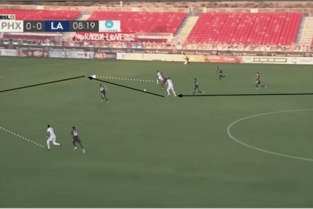 USL Championship 2019/20: Phoenix Rising vs LA Galaxy II - tactical analysis tactics