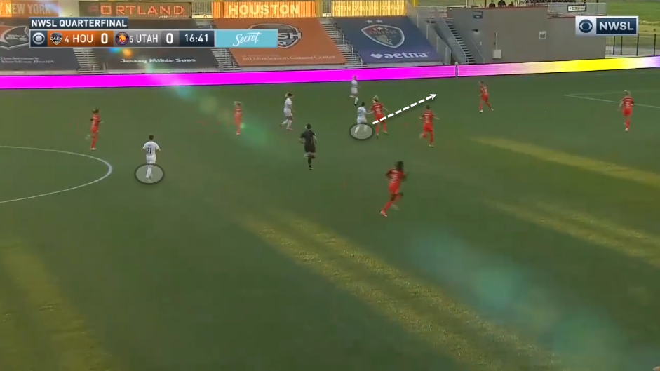 NWSL Challenge Cup 2020: Houston Dash vs Utah Royals tactical analysis tactics