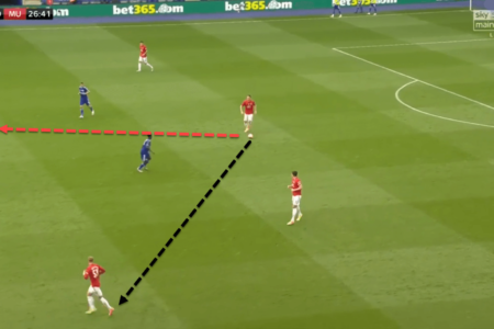 Can McTominay eventually replace Matic as Manchester United's defensive midfielder? - tactical analysis tactics