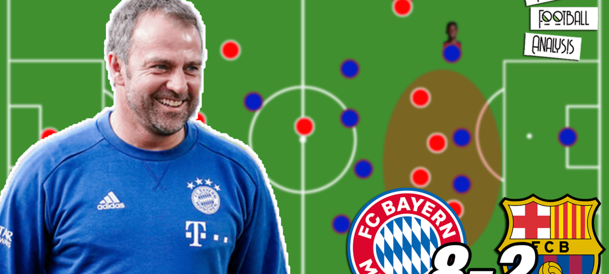 Video: Flick's Bayern Tactics That Destroyed Barcelona [8-2] - tactical analysis tactics