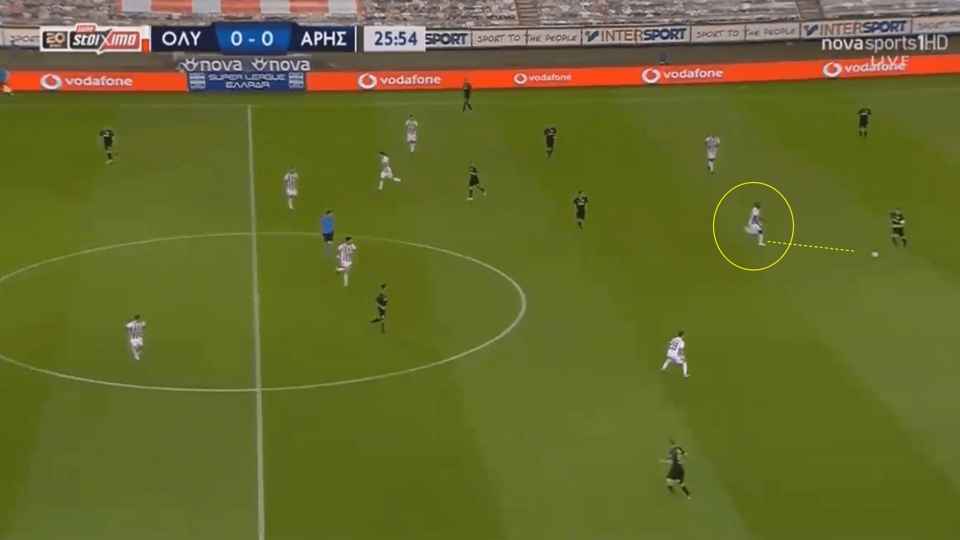 Mady Camara - Olympiakos midfielder ready for the Premier League? - tactical analysis tactics