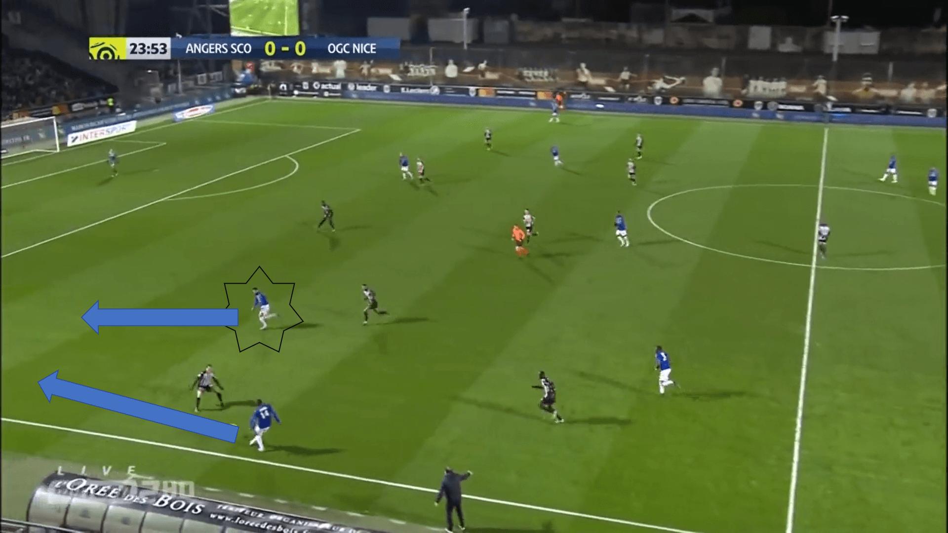 How Patrick Vieira is managing OGC Nice tactical analysis tactics