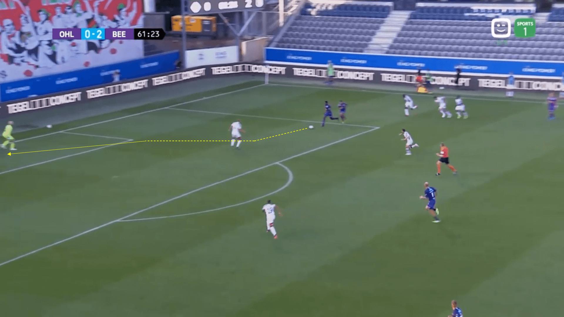 Proximus League Play Off - OH Leuven v Beerschot Wilrijk - tactical analysis tactics