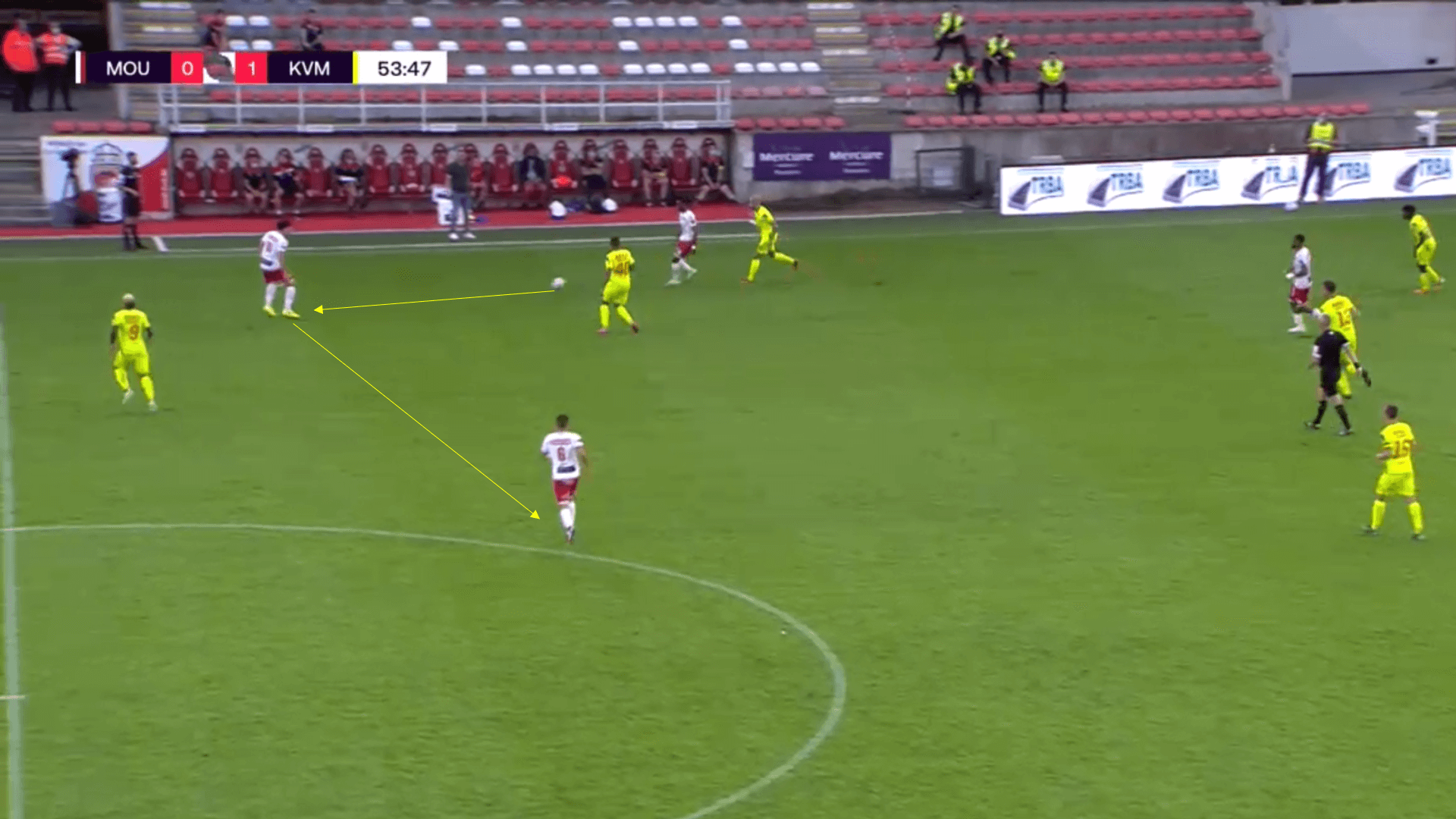 Belgian Pro League - Royal Mouscron v KV Mechelen - tactical analysis tactics