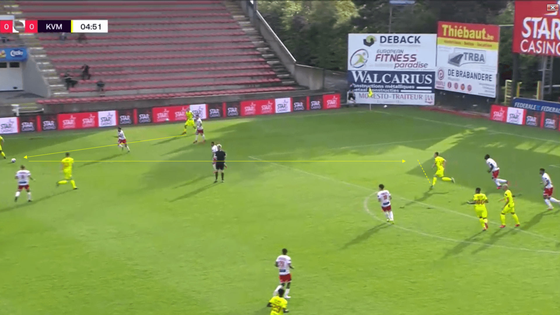 Belgian Pro League 2020/2021 - Royal Mouscron v KV Mechelen - tactical analysis tactics