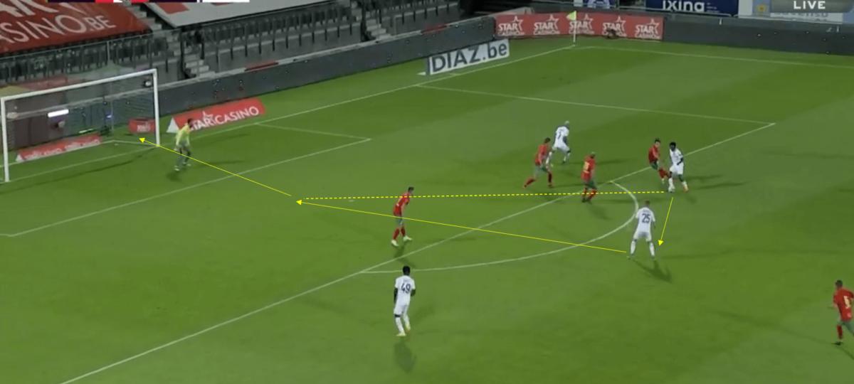 Belgian Pro League 2020/21 - Oostende v Anderlecht - tactical analysis tactics