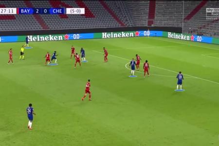 Champions League 2019/20: Bayern Munich vs Chelsea - tactical analysis tactics
