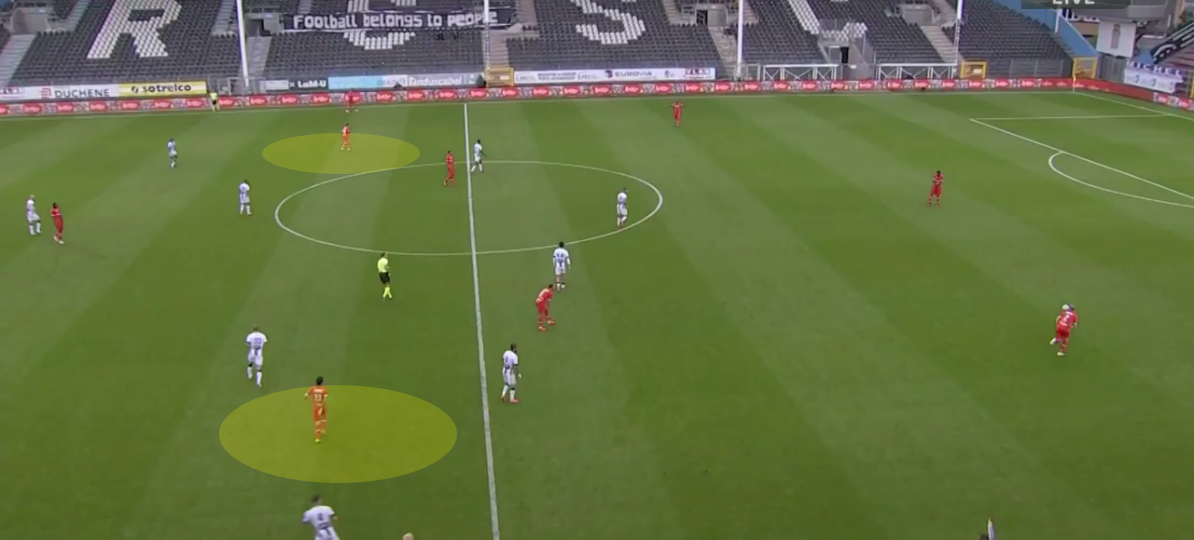 Belgian First Division A 2020/21: Charleroi vs Antwerp - tactical analysis tactics