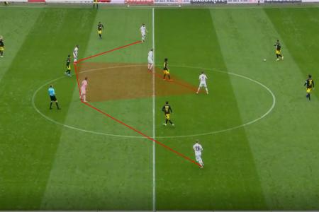Bundesliga 2020/21: Augsburg vs Borussia Dortmund- tactical analysis tactics