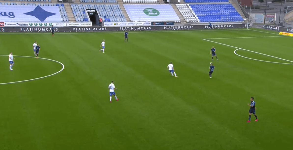 Allsvenskan 2020: Norrköping vs Malmö FF - tactical analysis - tactics