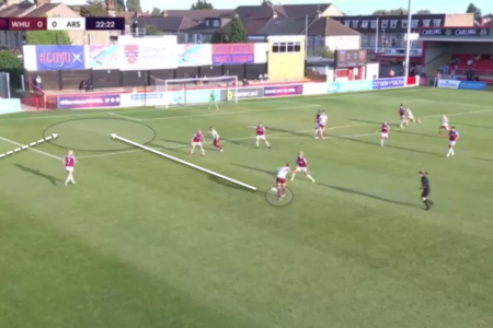 FAWSL 2020/21: West Ham Women vs Arsenal Women - tactical analysis tactics