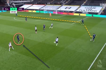 Arsenal Fulham Premier League tactical analysis tactics