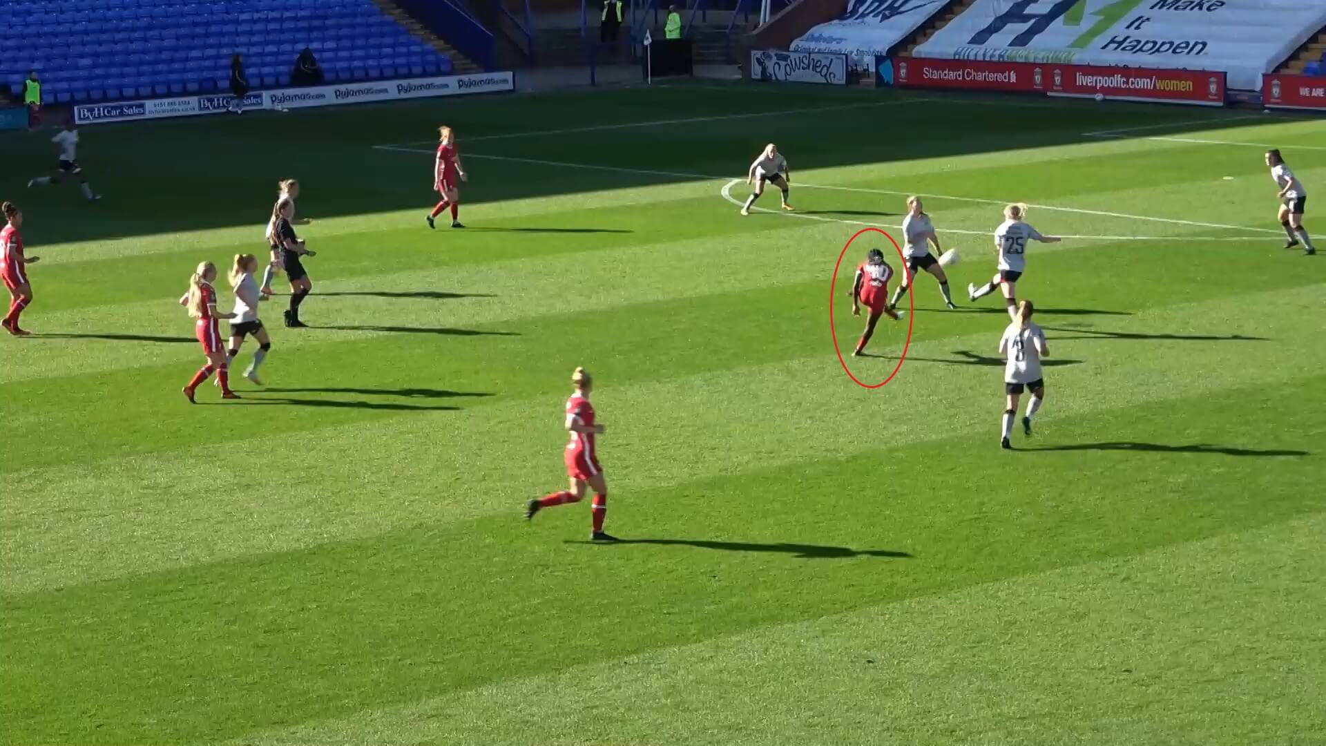 FA Women's Championship 2020/2021: Liverpool Women v Charlton Athletic Women - tactical analysis tactics