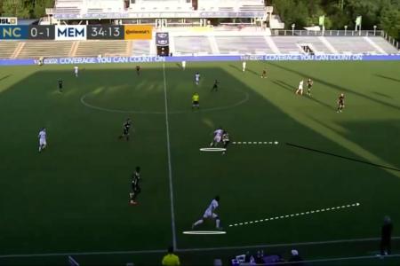 USL Championship 2020: North Carolina FC vs Memphis 901 FC - tactical analysis