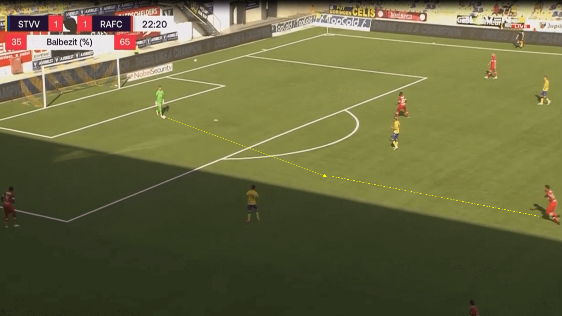 Belgian Pro League 2020/21 - Sint Truiden v Antwerp - tactical analysis tactics