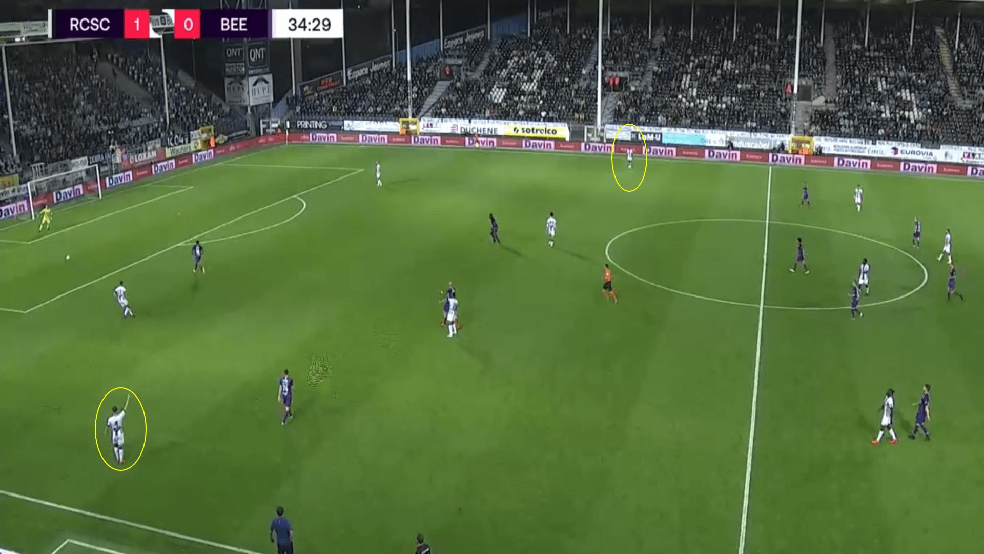 Belgian Pro League 2020/21 - Charleroi v Beerschot - tactical analysis tactics