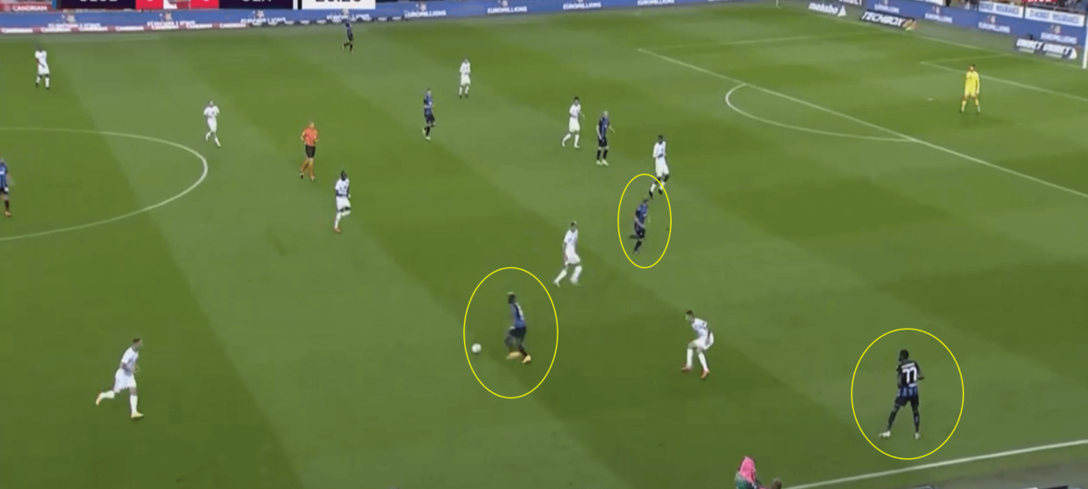 Belgian Pro League 2020/2021- Club Brugge v Cercle Brugge - tactical analysis tactics
