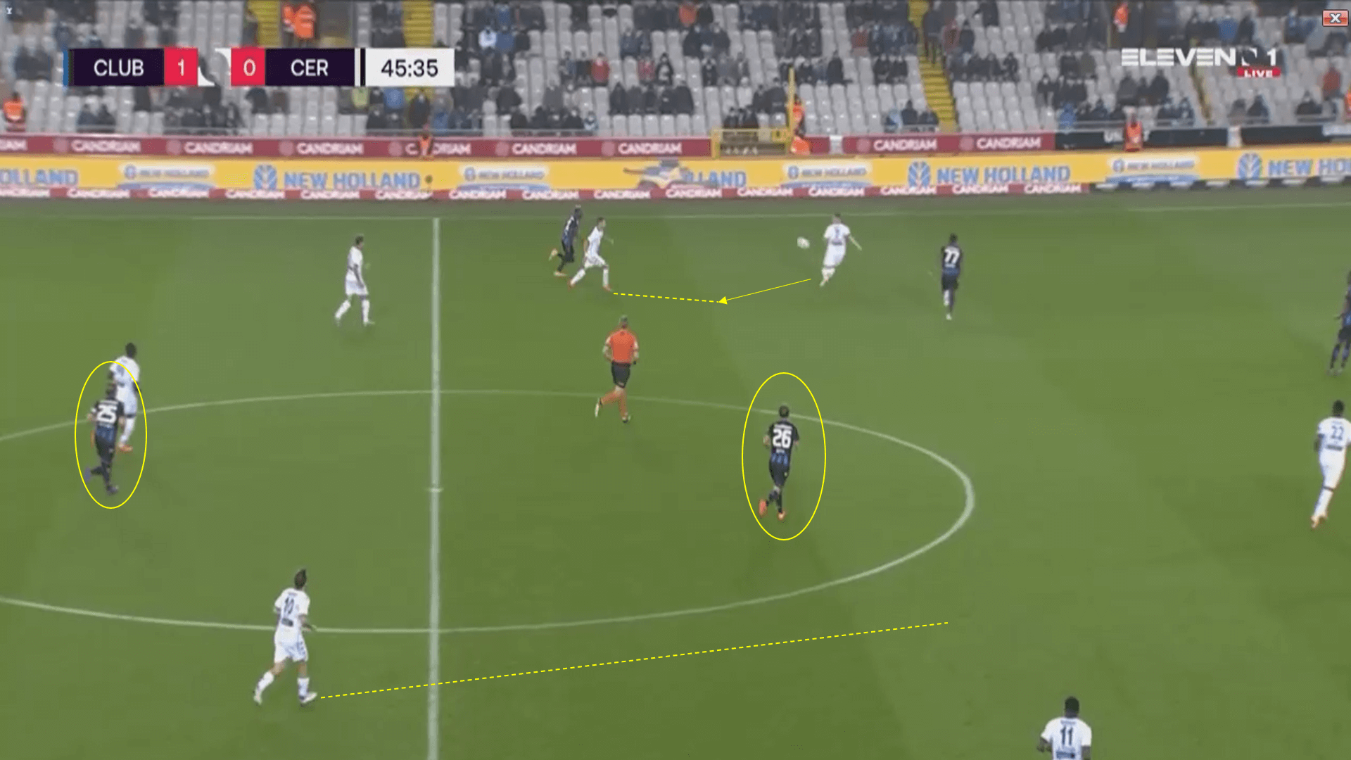 Belgian Pro League 2020/2021 - Club Brugge v Cercle Brugge - tactical analysis tactics